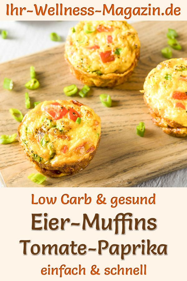 Osterbrunch: Low-Carb-Eiermuffins  - gesundes Rezept fürs Oster-Frühstück
