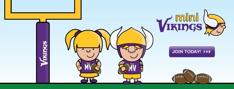 Minnesota Vikings | MiNi Vikings Kids Club - Home | My