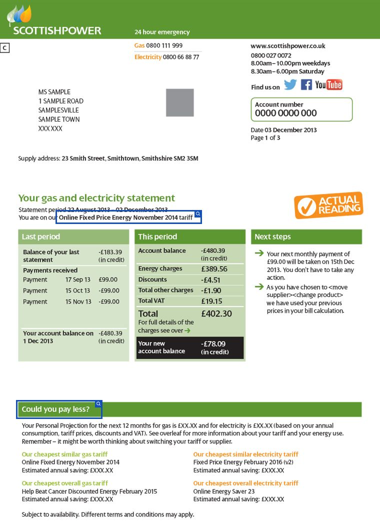 Pin by pvav pvavovic on Electricity & gas bill | Pinterest | Energy bill