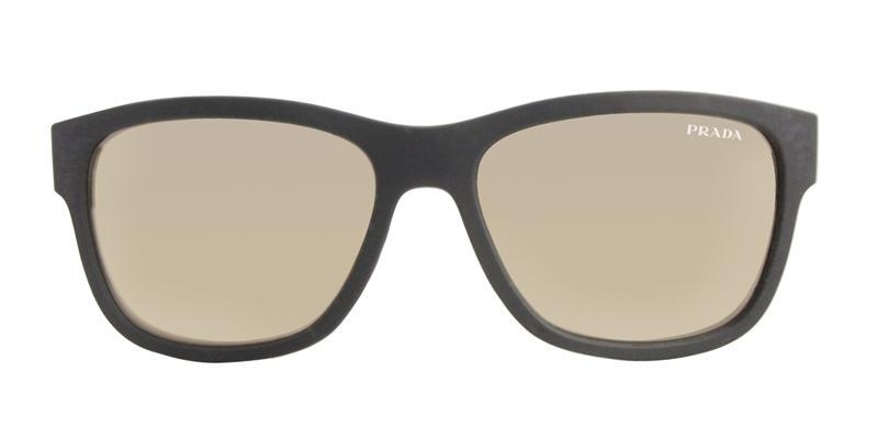 20ac4caa Prada Sport Men's SPS03Q Black / Gold Lens Sunglasses | Prada Sport ...