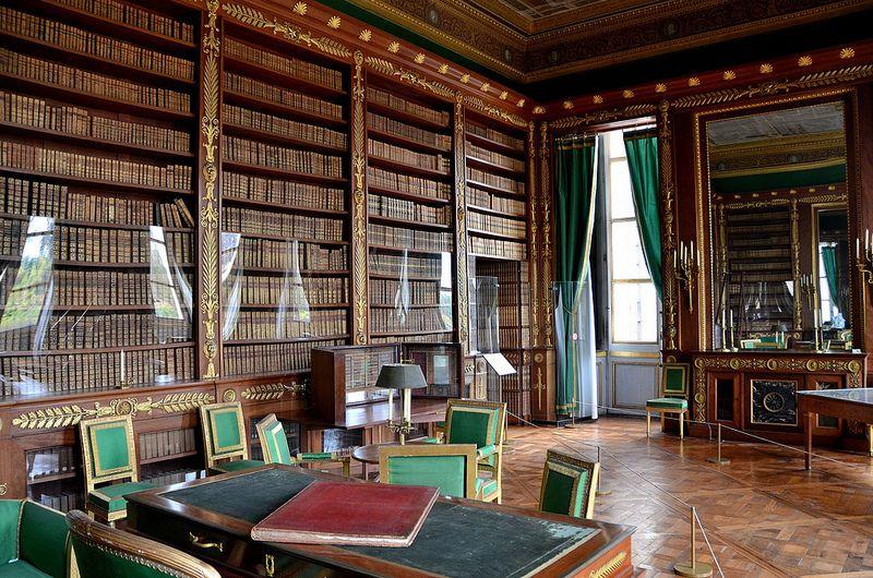 Château de compiègne oise bibliothèque de lempereur napoléon 1er