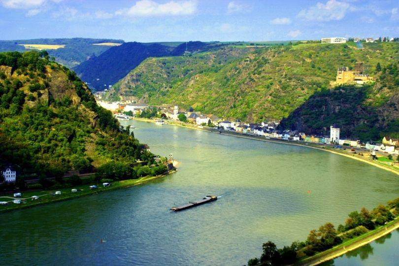 Rhein, Rheintal, Unesco world heritage, Welterbe oberes Mittelrheintal, Germany