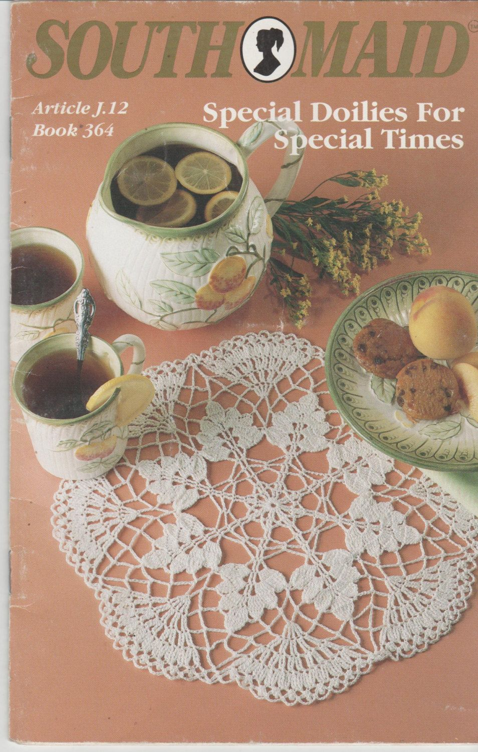 South Maid Special Doilies For Special Times Pattern Book Used