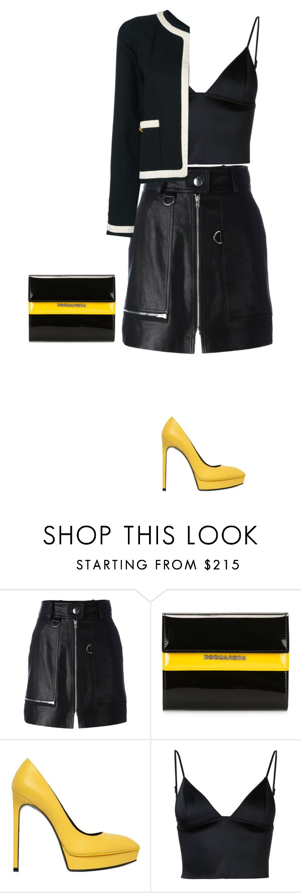 """""""Untitled #4806"""" by linda56draco ❤ liked on Polyvore featuring Isabel Marant, Dsquared2, Yves Saint Laurent, T By Alexander Wang and Chanel"""