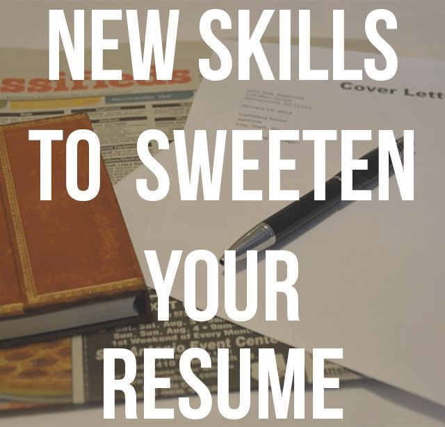 Learn Cool Skills to Sweeten Your Resume Resume skills - skills sets for resume