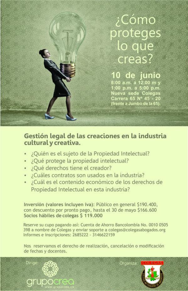 #seminario #propiedadintelectual #colombia #copyright: