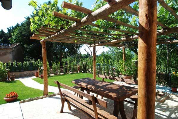 La Pergola   Toscana   Italien   La Villa   pergola ideas