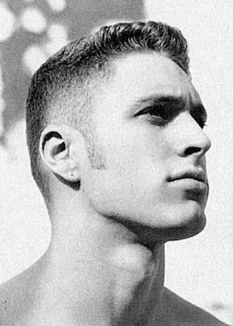Sensational Tight Taper Short Haircut With Long Sideburns Haircuts And Hairstyles For Men Maxibearus