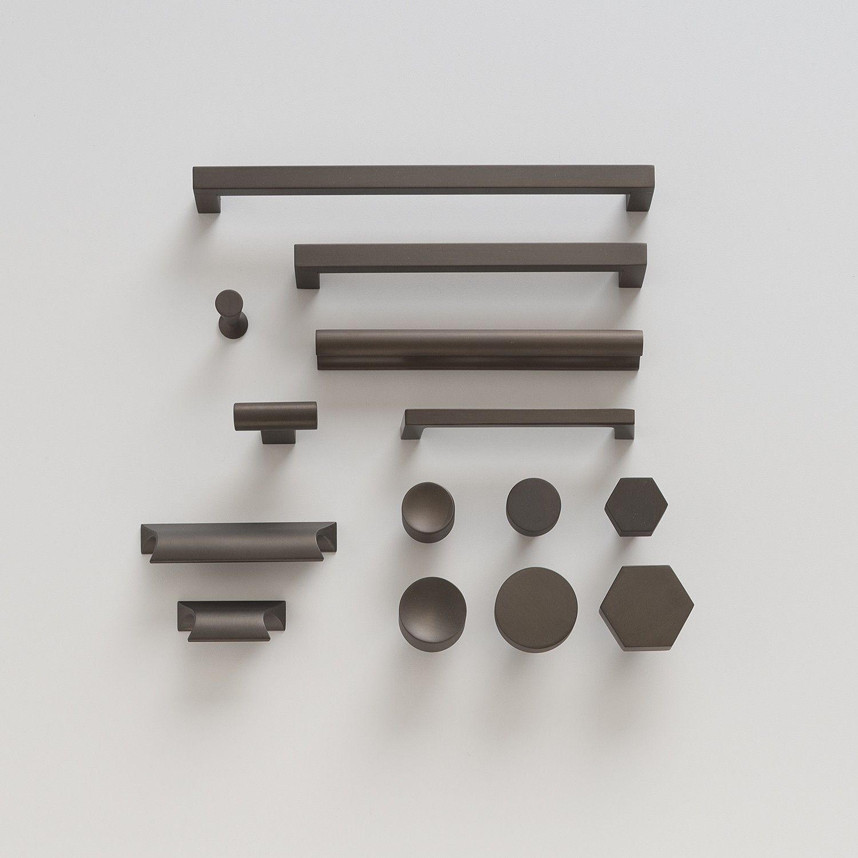 Mid Century Knob - Matte Bronze | Client SB | Pinterest ...