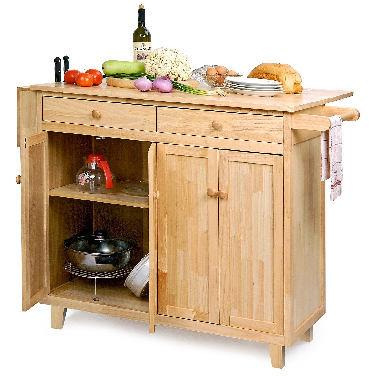 Belham Living Vinton Portable Kitchen Island With Optional Stools Kitchen Islands And Carts At Hayneedle Portable Kitchen Island Kitchen Kitchen Renovation