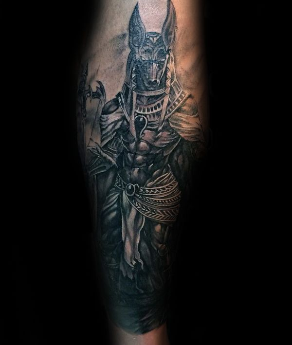 Nice Tattoo Trends 100 Anubis Tattoo Designs For Men Egyptian Canine Ink Ideas Anubis Tattoo Tattoo Designs Men Tattoos For Guys