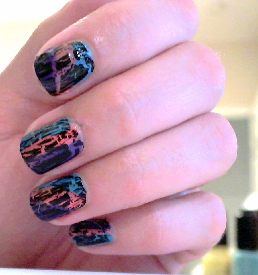 crackle nail polish | Nails art | Pinterest | Crackle nails ...