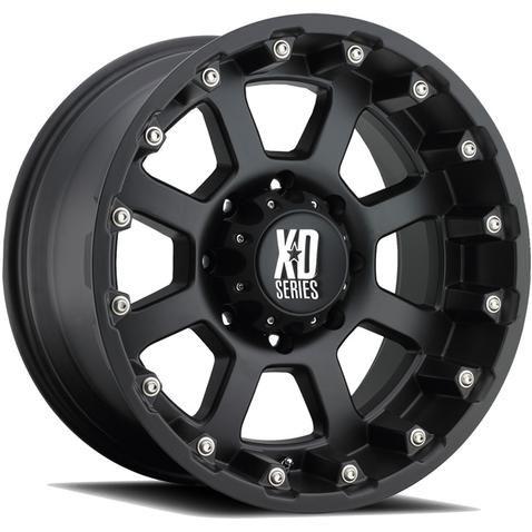 Kmc Xd-Series 807 Strike Wheels 17 Inch