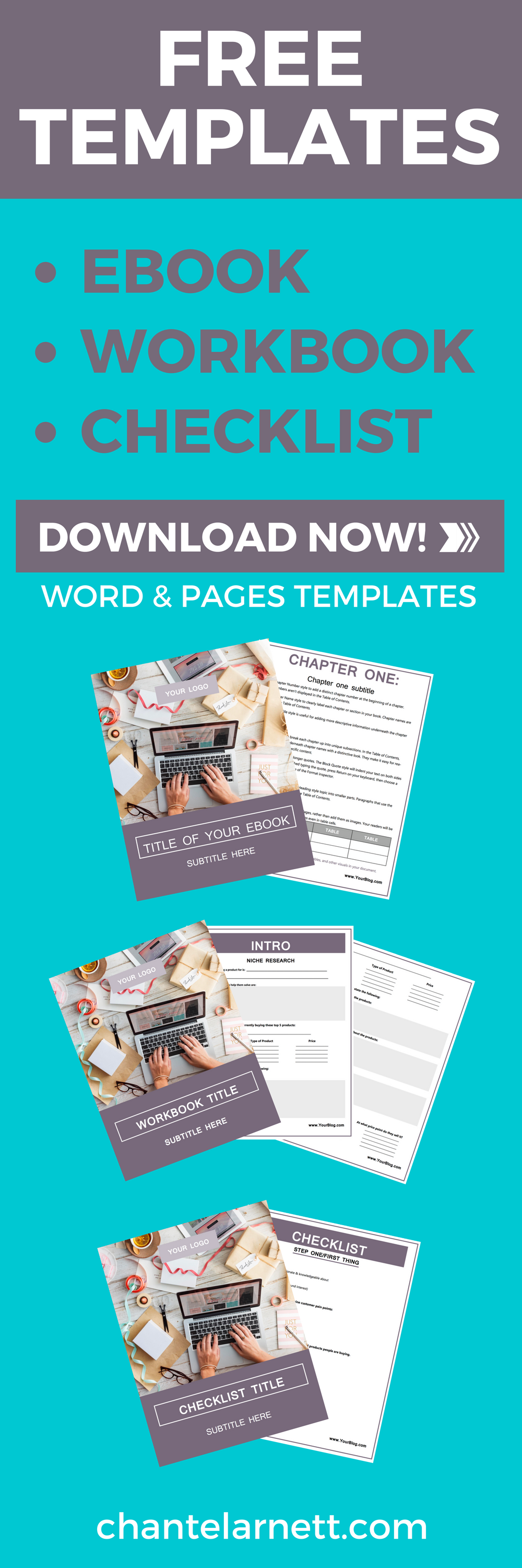 Three free customizable templates lead magnet email list and magnets pdf free editable templates have you always wanted to create your own checklists ebooks fandeluxe Gallery