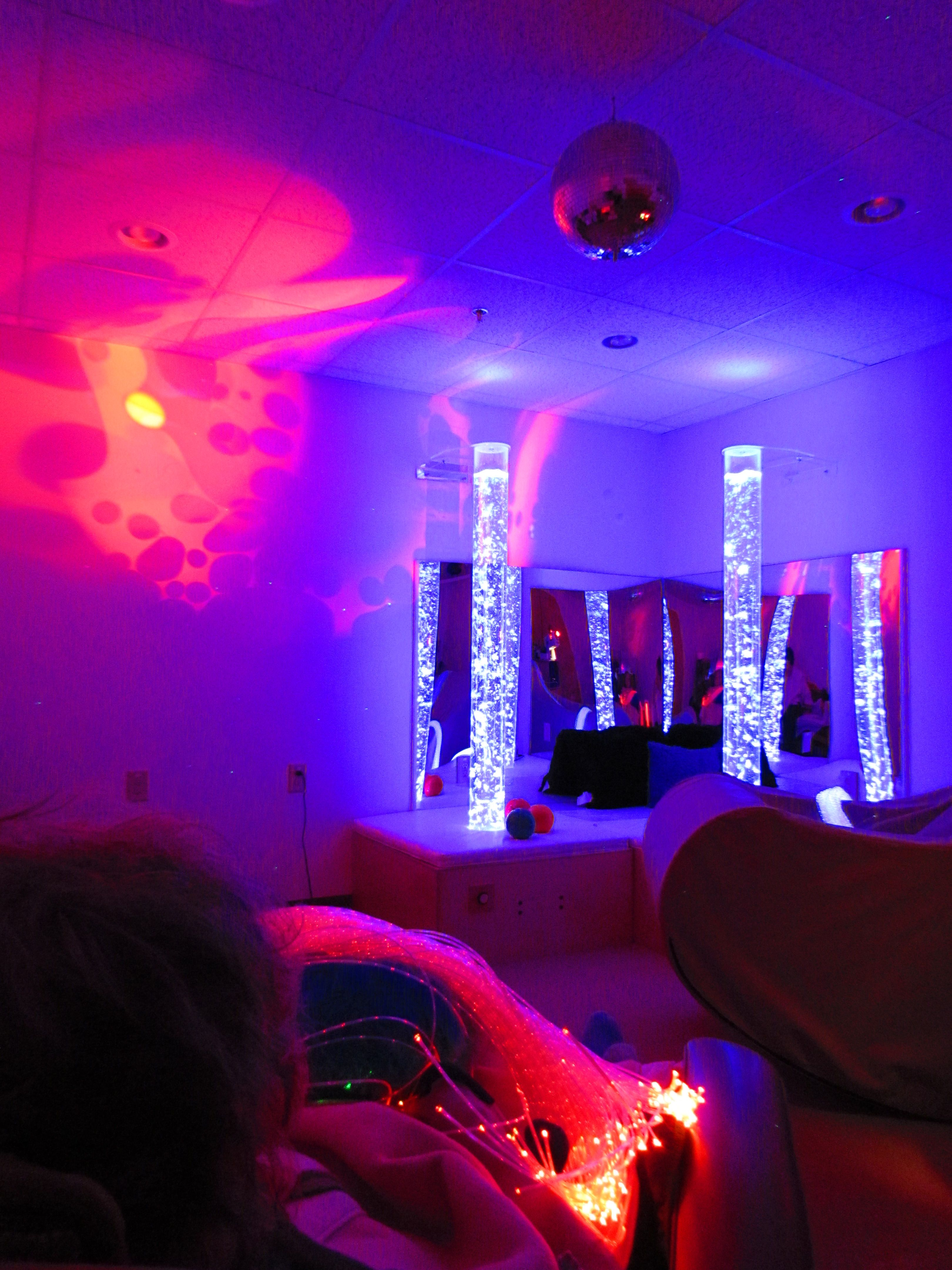 Salle De Bain Snoezelen ~ i think all rooms should have an element of this multi sensory room