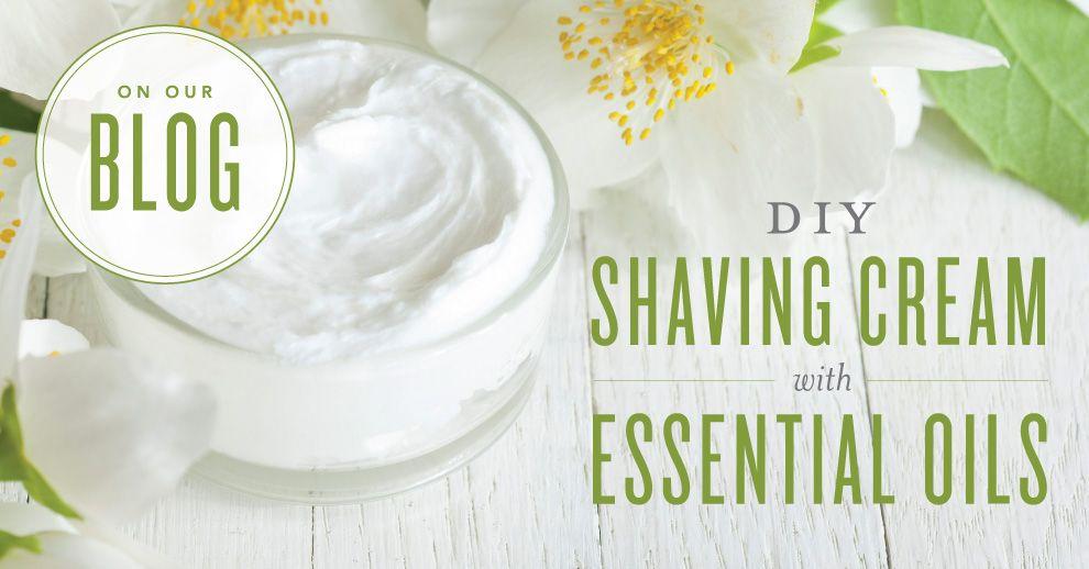 DIY Shaving Cream | Young Living Essential Oils