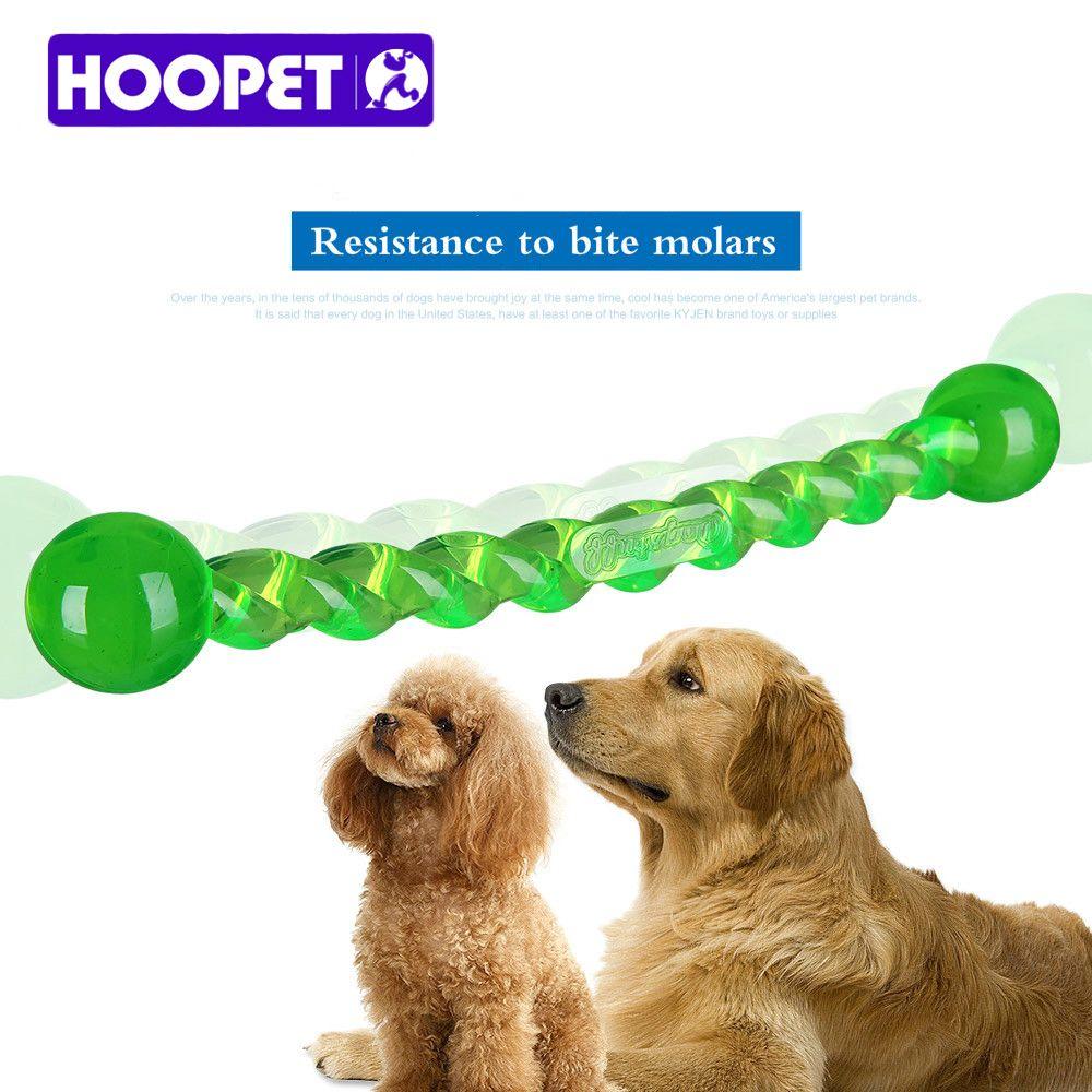 Hoopet Dog Teeth Stick Dogs Toys Environmental Food Grade Tpr