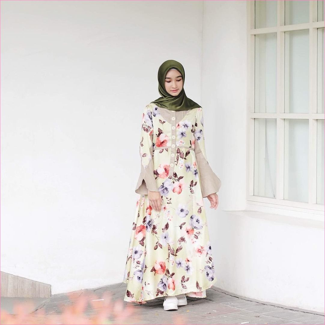 Outfit Baju Hijab Casual Untuk Perempuan Gemuk Ala Selebgram 10