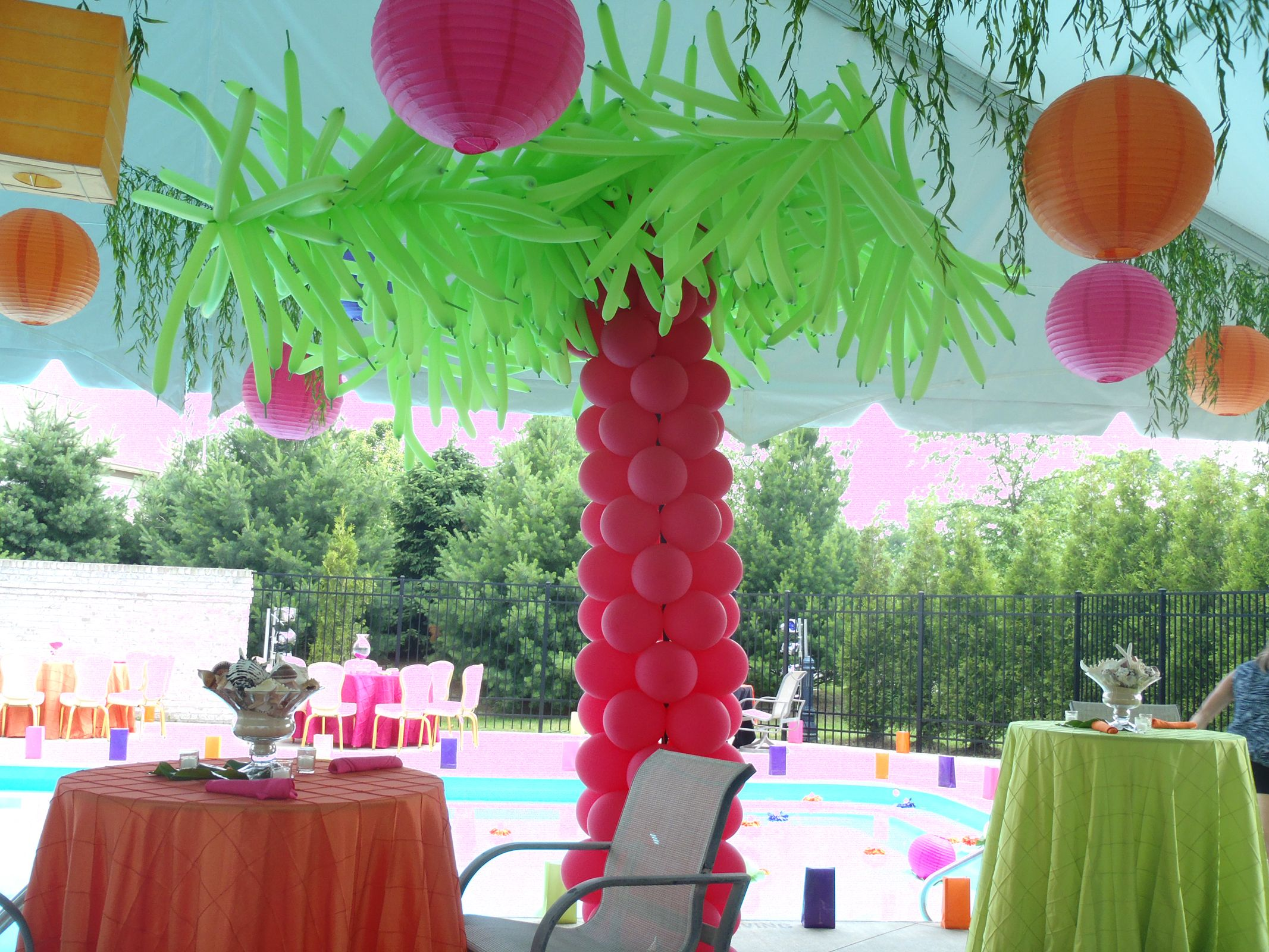 Pool Parties Start With Party On Custom Event Decorating Experience The Difference