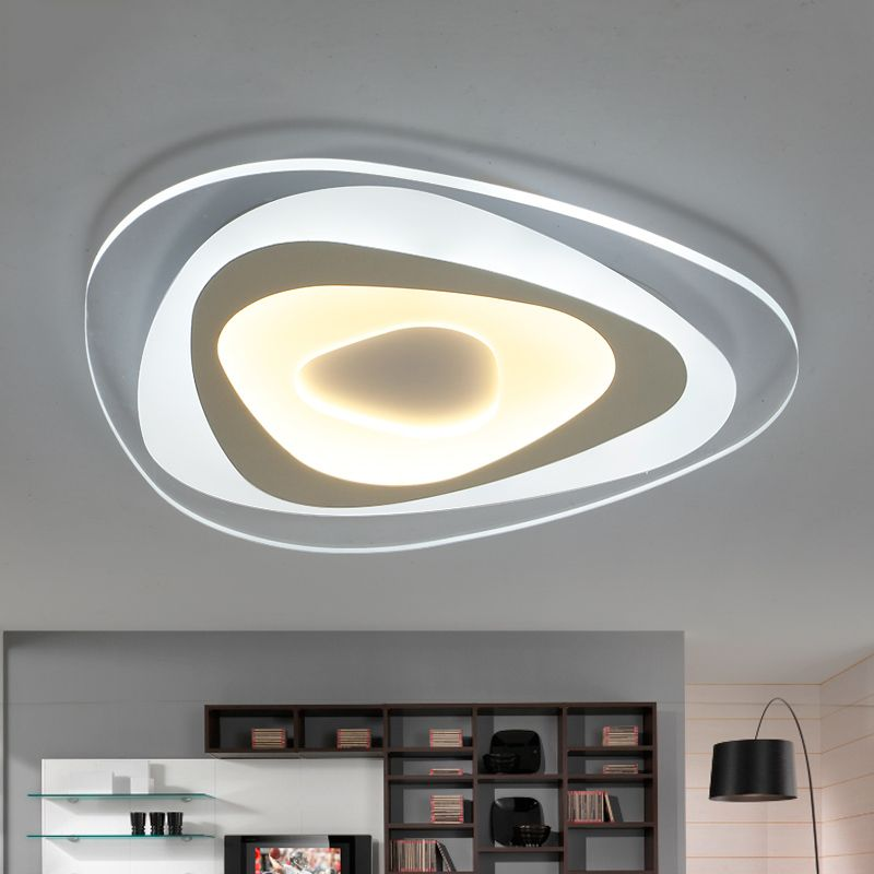 110 220v Ultra Thin Acrylic Ceiling Lamp Luces Led Para Casas Led
