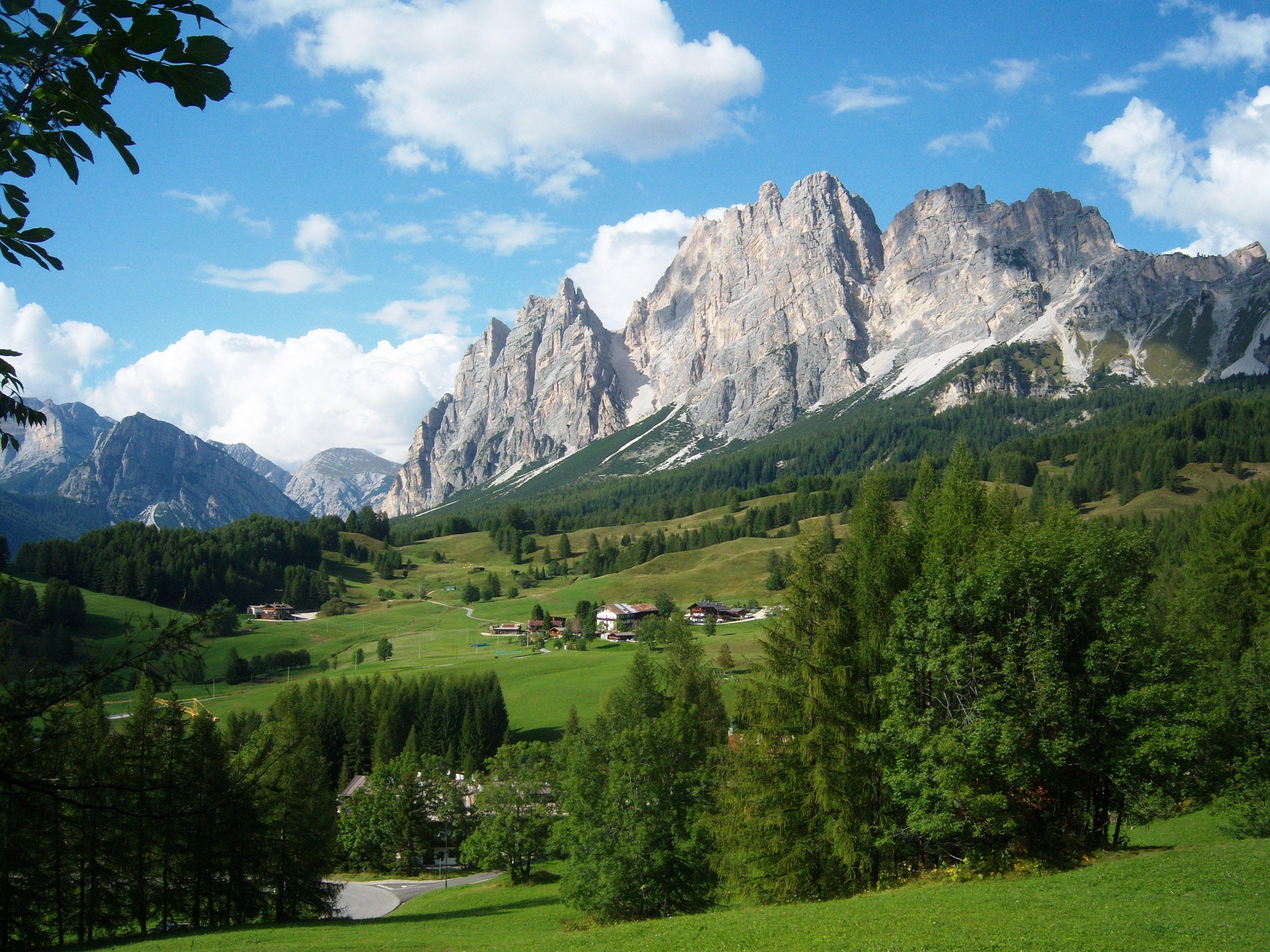 Cortina d'Ampezzo, Dolomites, Italy. One of the best ways
