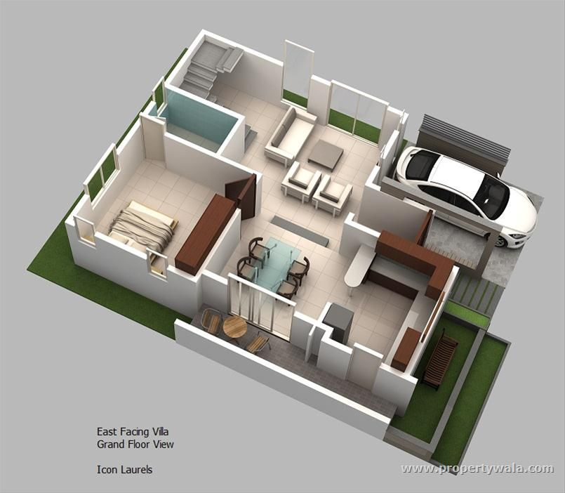 Pin by fetiana on Home   Apartement Konsep Pinterest House - plan de maison duplex gratuit pdf