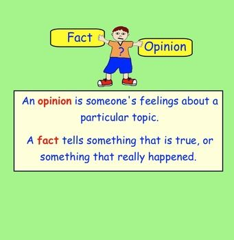 fact and opinion paragraph Fact and opinion post test are the sentences below facts or opinions 1 i think your room is the messiest i have ever seen a fact b opinion 2 the hardest thing to learn in school is science.