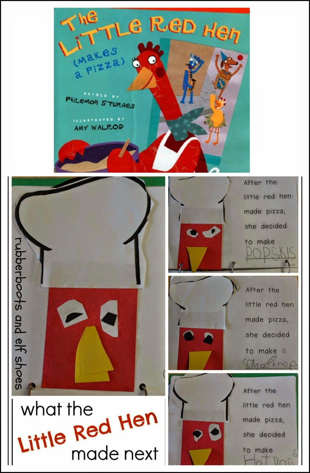 Book Report The Little Red Hen Make A Pizza