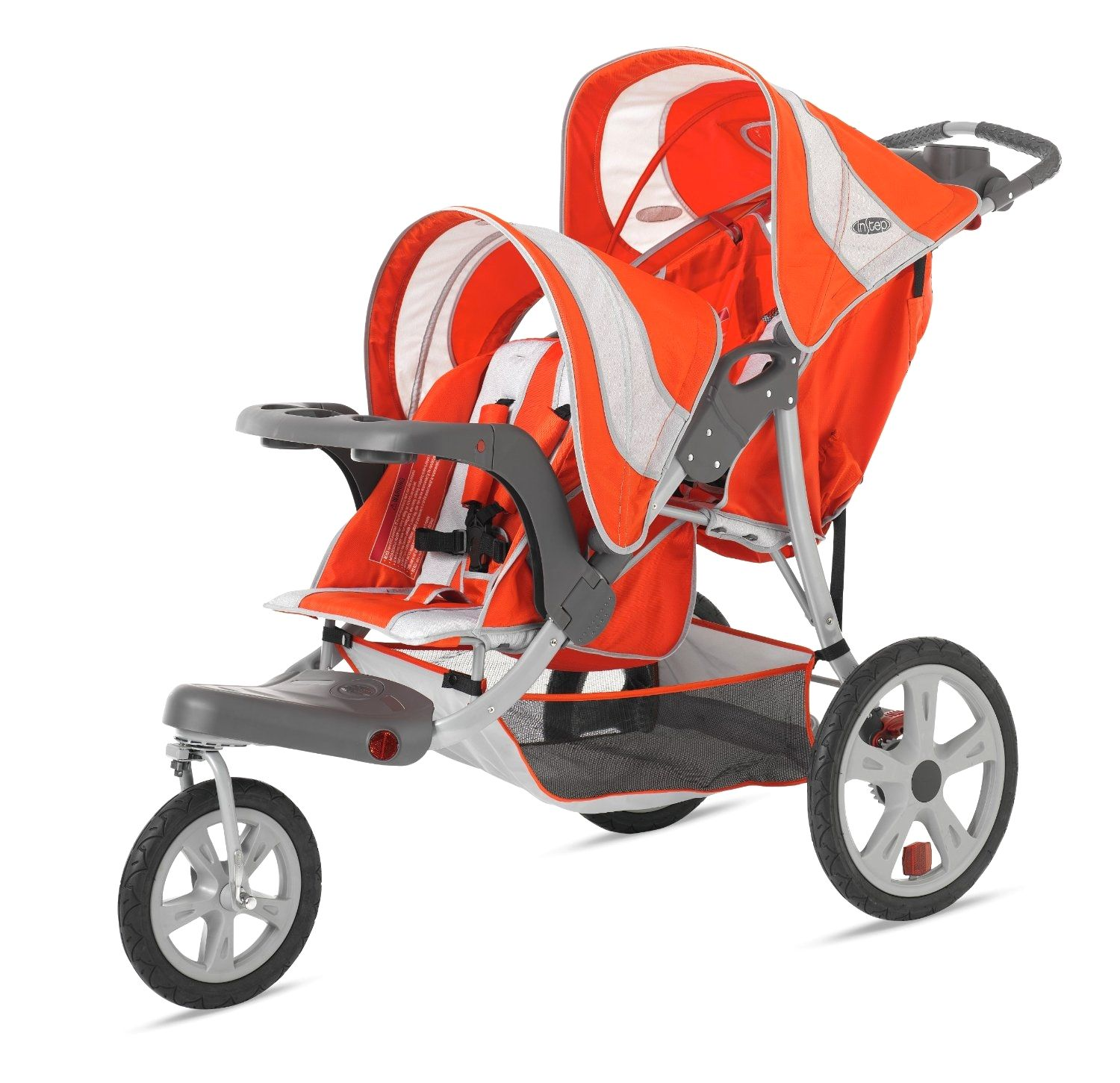 The ideal twin strollers for exploring Double jogging
