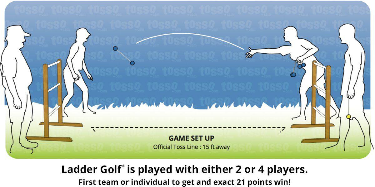 Ladder Ball Rules Ladder Golf Golf Ladder