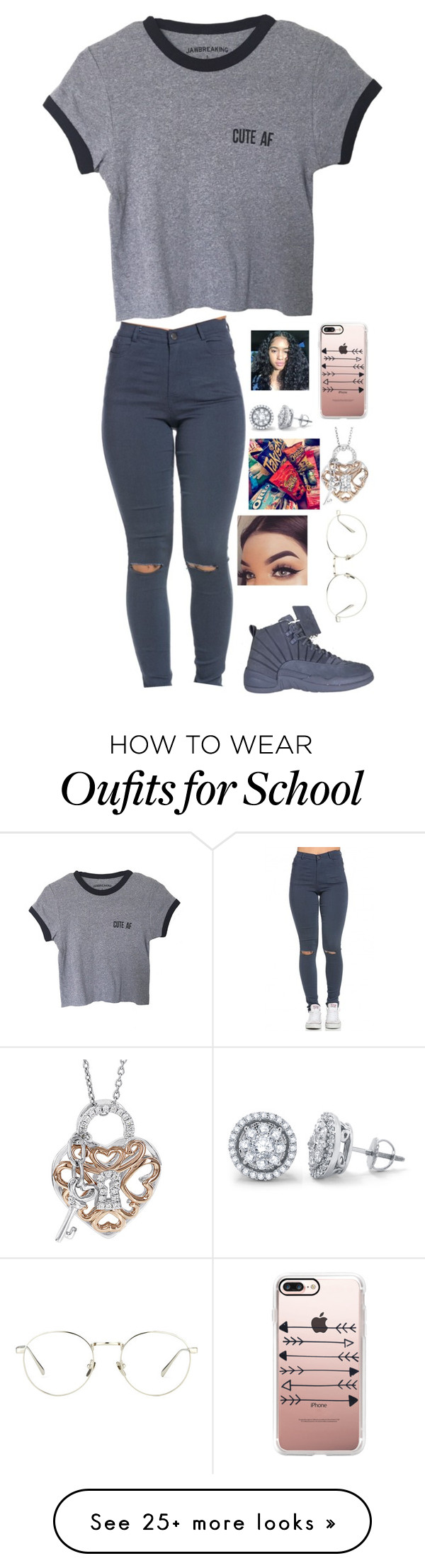 """""""Rambo"""" by swaggyrl on Polyvore featuring Casetify, DIVINA, H Star and Linda Farrow"""