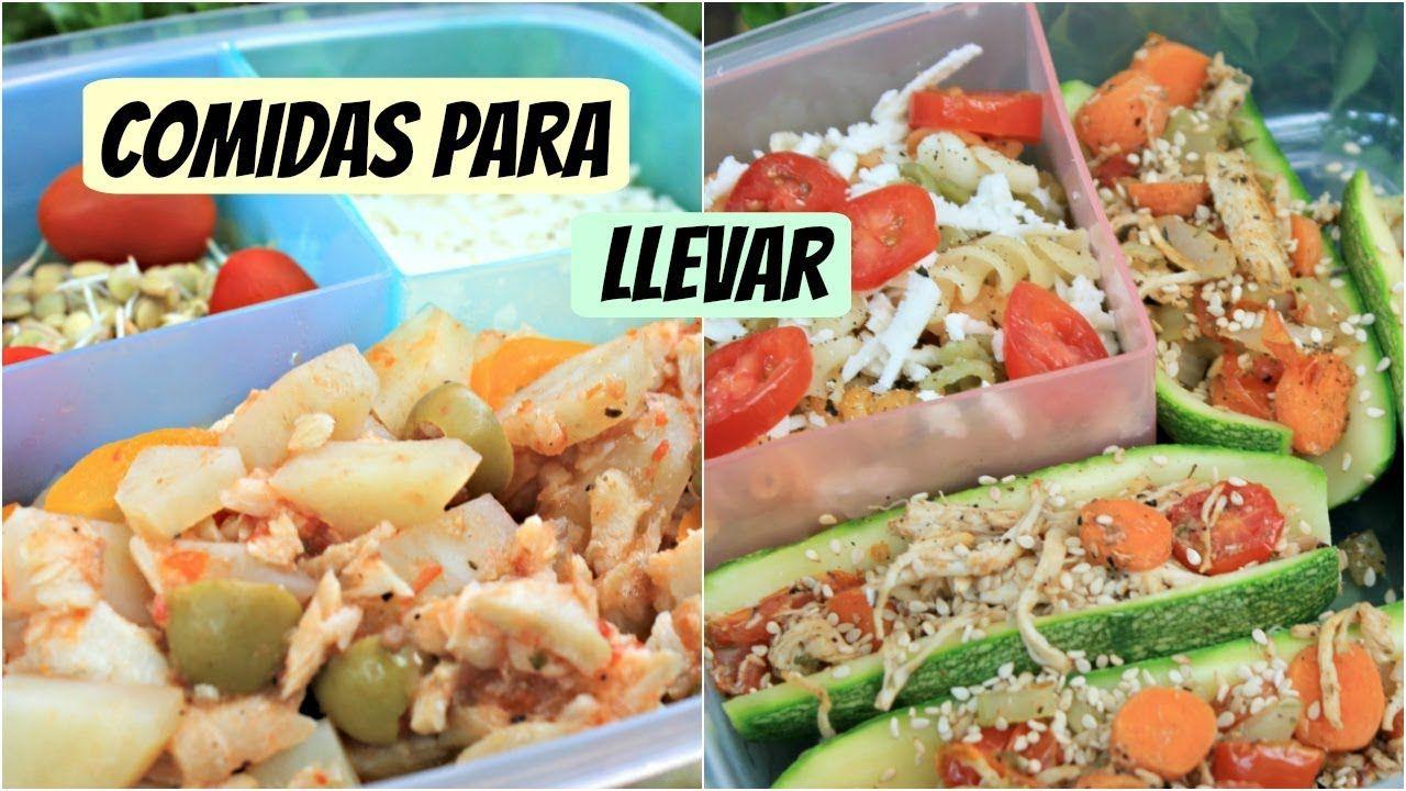 alimentos para llevar una comida saludable