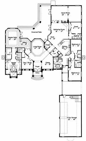 Plan 4246mj Grand Palladian Design House Plans How To Plan House Floor Plans