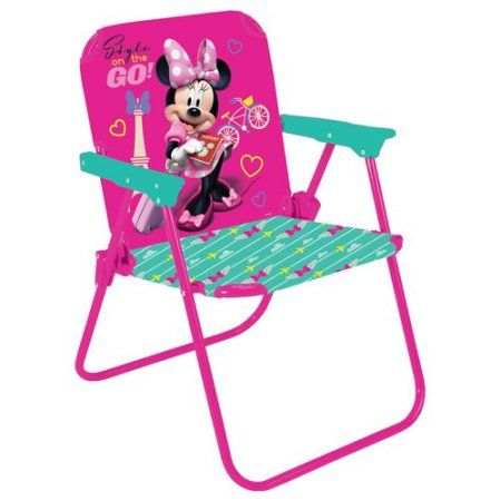 Minnie Mouse Folding Chair Beach Deck Chairs For Sale Disney Jetter Set Fold N Go Pink Pinterest Multicolor