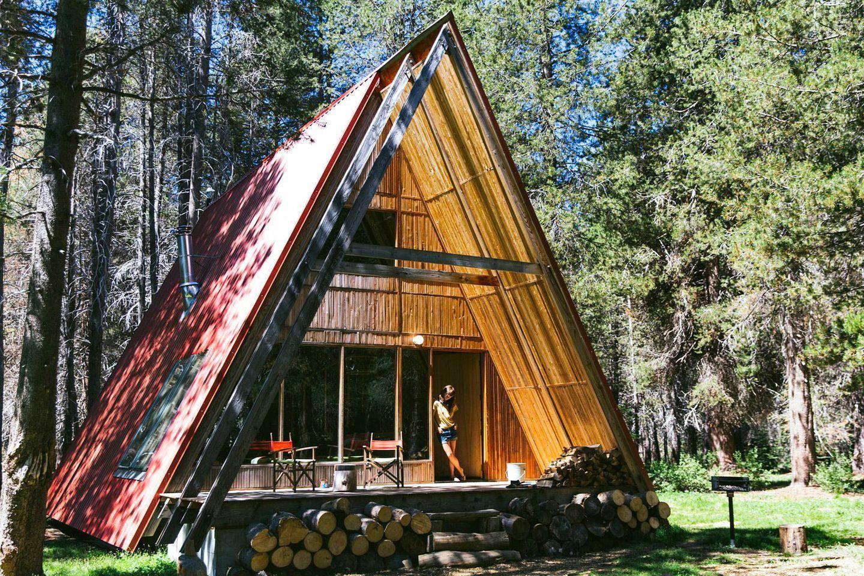 Aframe cabin rental near yosemite national park