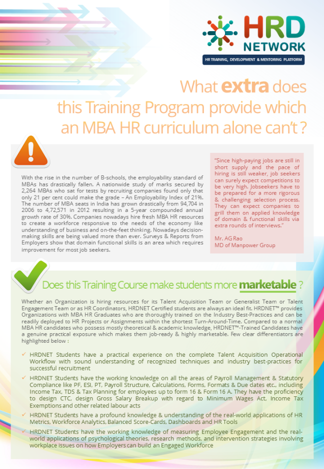 Hr Certification Course Brochure Pg 14 Download The Full 35 Mb