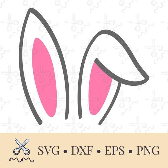 Bunny Ears Sublimation Designs Downloads Easter Png Bunny Etsy Bunny Ear Easter Bunny Ears Bunny Svg