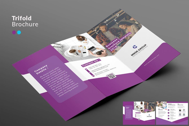Trifold brochure template ai eps a4 brochure templates trifold brochure template ai eps a4 saigontimesfo