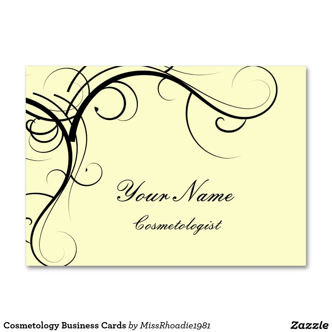 cosmetology business cards  business cosmetology and cards
