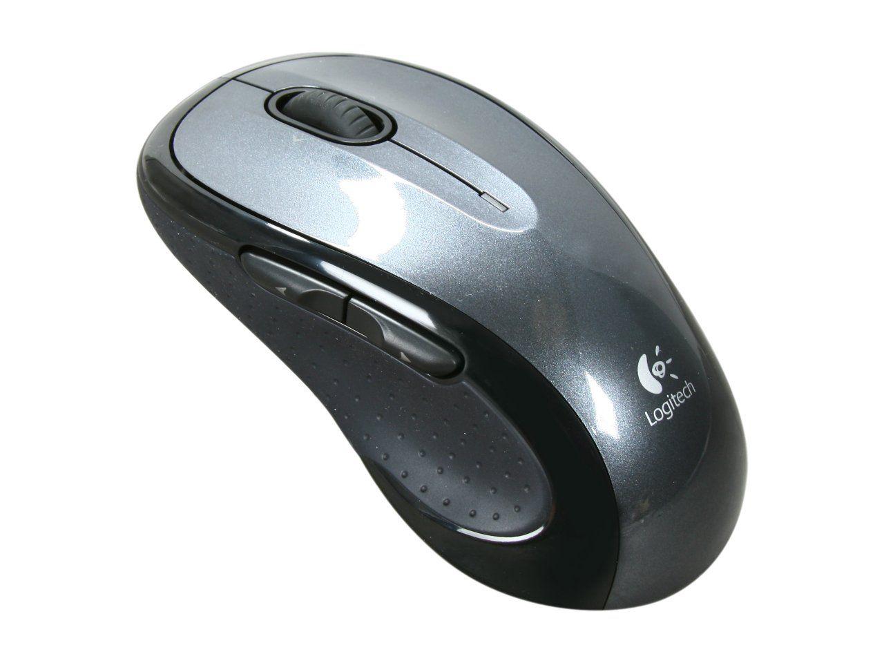 Logitech M510 Black 5 Buttons Tilt Wheel USB RF Wireless