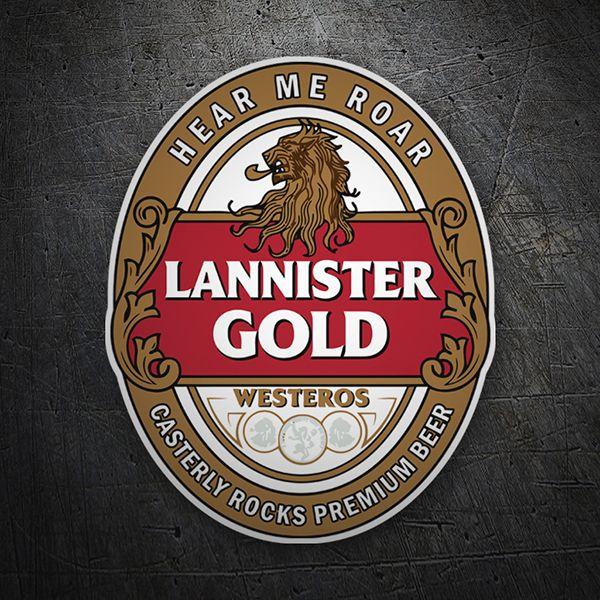 Juego De Tronos Lannister Gold Juego De Tronos Cumpleaños Juego De Tronos Etiquetas De Bebidas