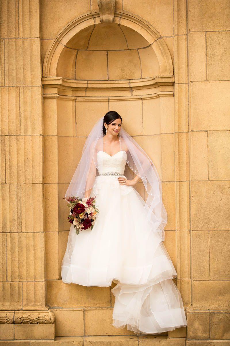 Wedding photography   classic bridal portrait   #McFerson Commons ...