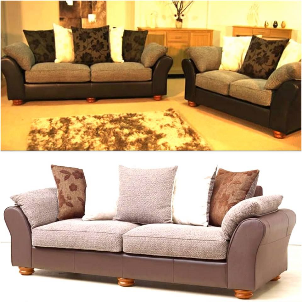 Warm Up Any Living Room With This Clico Two Seater Sofa In Stylish Fabric Faux