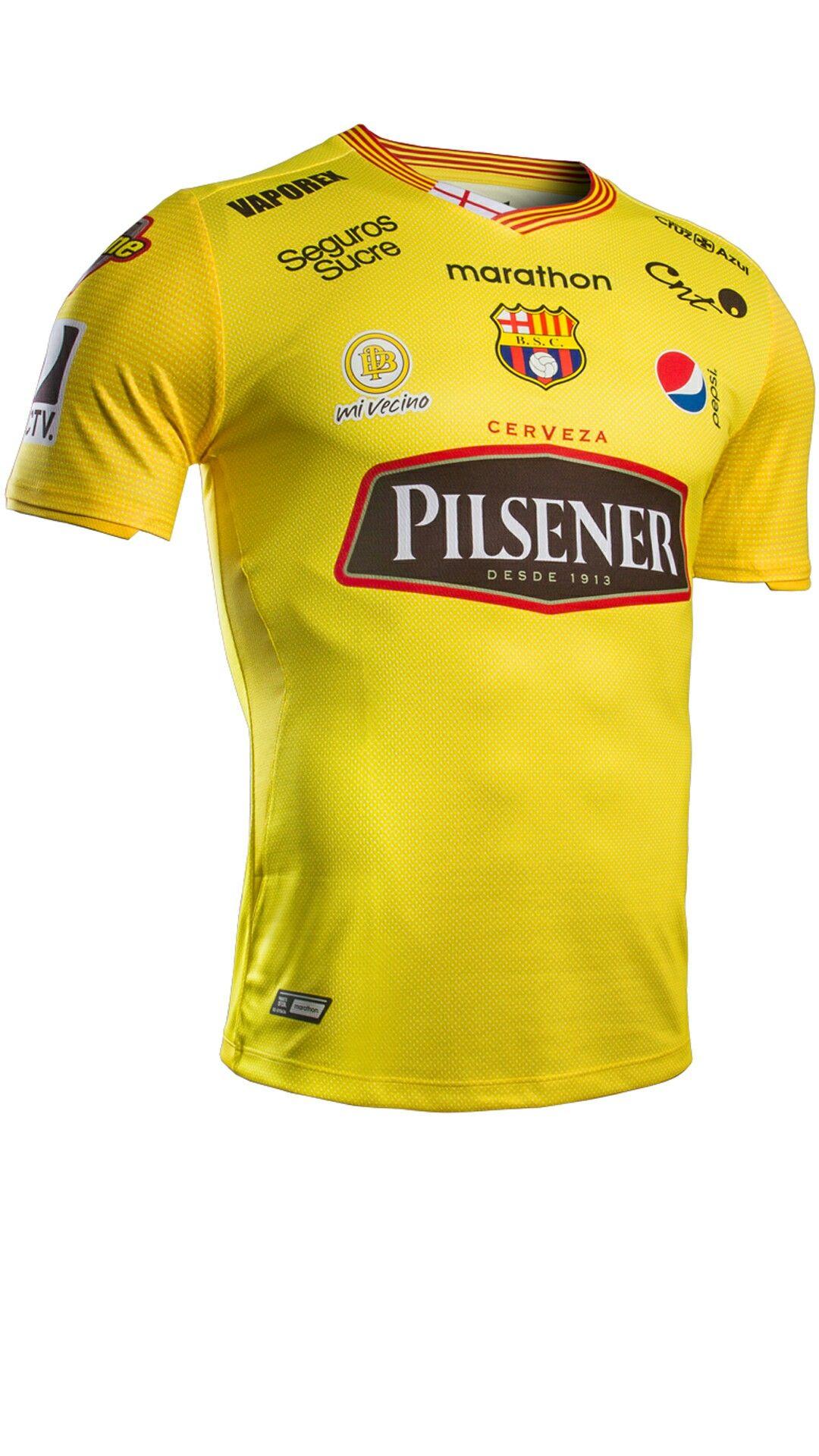 Camiseta Oficial 2018 de Barcelona Sporting Club x Marathon Sports ... b430119ff8882