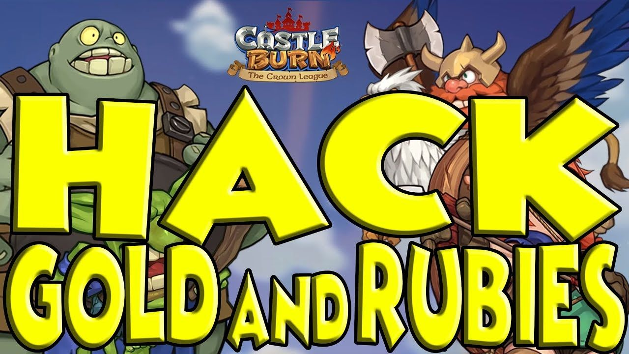Castle Burn Mod Apk V1 6 5 Unlimited Gold And Rubies Castle Burn