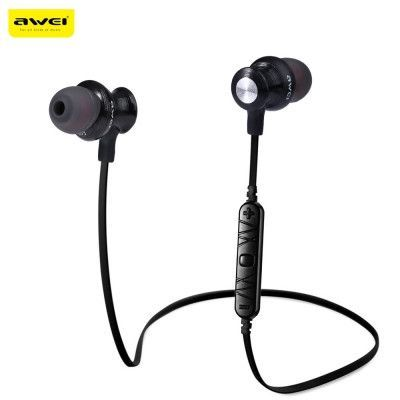 Wire, Cable & Conduit Awei A980BL Wireless Bluetooth 4.0 Sport Stereo Earphone HiFi Headset with Mic Electrical Equipment & Supplies