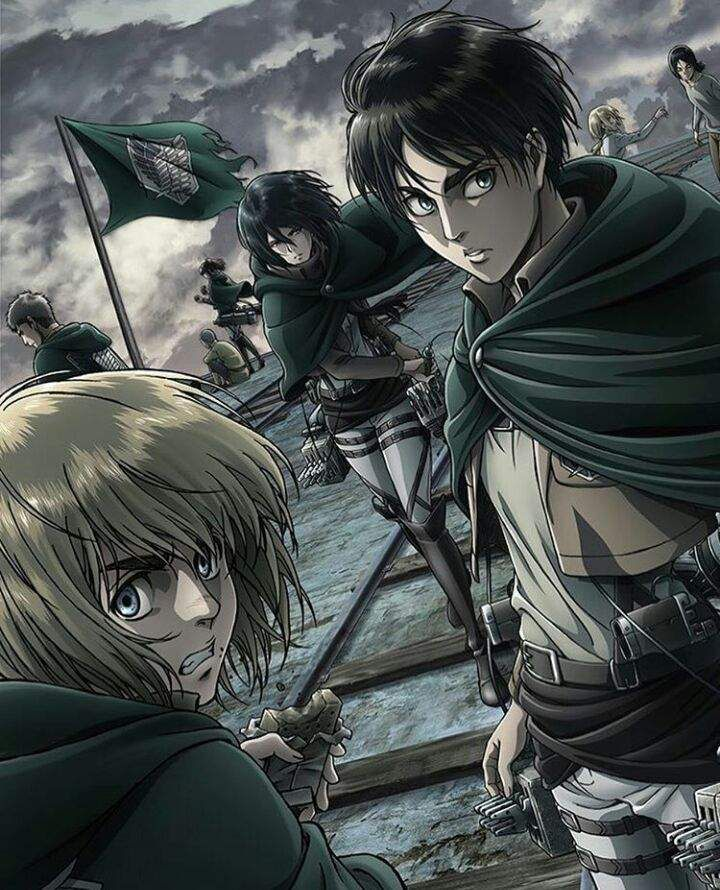 Pin by Animes on Shingeki no kyojin in 2020 Attack on