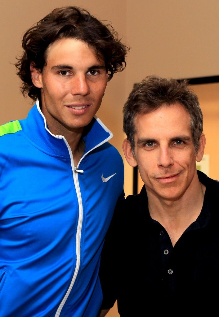 Image result for nadal and ben stiller