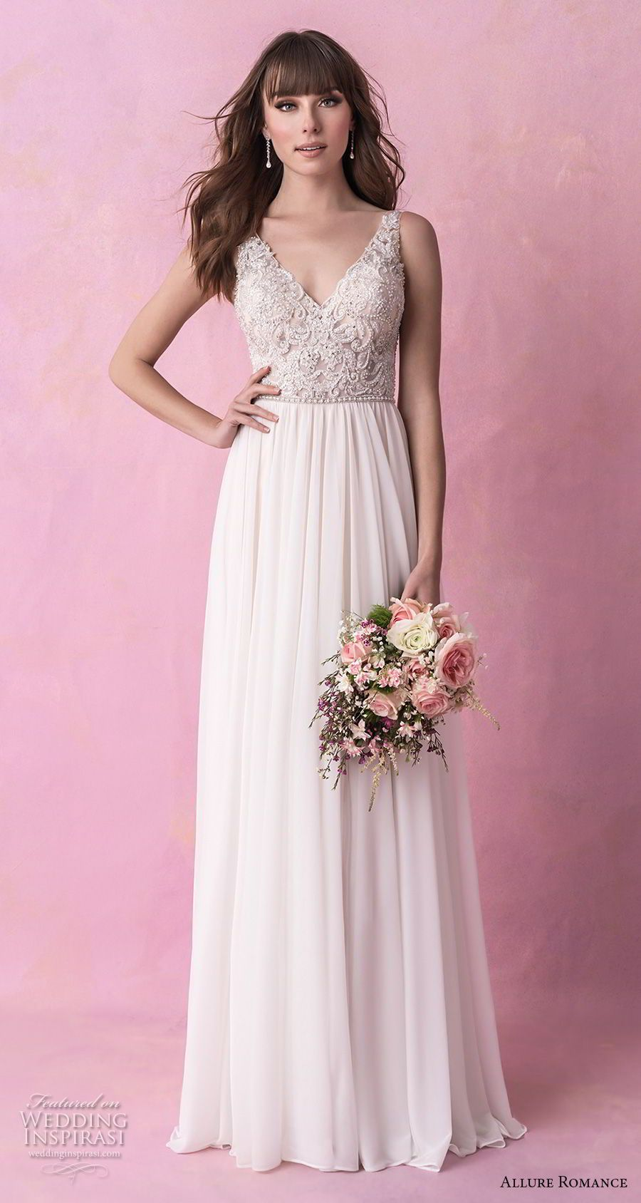 Allure Romance Fall 2018 Wedding Dresses   Pinterest   Vestidos de ...