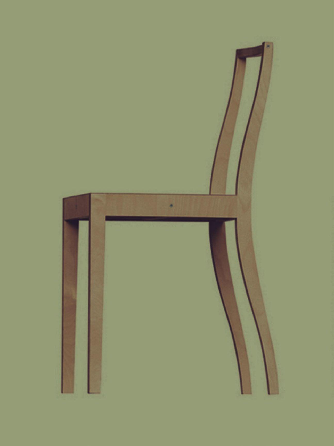 jasper morrison aw designer 2016 plywood chair der entwurf stammt von 1988 und